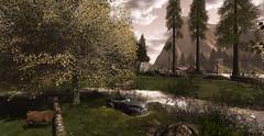 Paysage... (Mandarine.12) Tags: secondlife sl arbre nature fameshed thelittlebranch