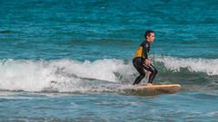 Yellow & Teal (Adriani9819) Tags: surf gijon beach playa olas mar sea sun sol sport asturias deporte disfrute fun