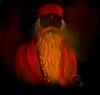 Lal Shalu  #corelpainter #wacomone ©Topu (topuhossain21) Tags: wacomone corelpainter design art drawing painting digitalpainting portrait face beard monk lalshalu baba rishi orange wacom digital