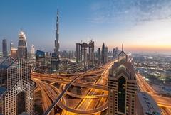 Burj Khalifa at twilight (pappu_srkr) Tags: burjkhalifa shekhzayedroad dusitthanidubai
