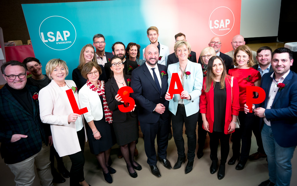 Congrès LSAP à Oetrange luxembourg le 16.03.2018 ©Christophe Olinger