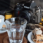 coffe cake and photo thumbnail