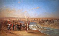 Le dernier coup de pioche pour le canal de Suez (Institut du monde arabe, Paris)
