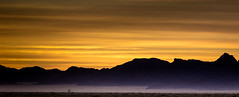 Desert Afterglow (Beppe Rijs) Tags: hoodiadesertlodge sunlight natur namibia afrika africa desert wüste landscape landschaft rock fels berge mountain color farbe abstrakt abstract yellow gelb nationalpark nature np namib silhouette himmel steppe sonnenuntergang red rot orange