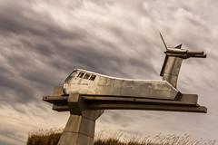 Aérotrain (Daniel_Hache) Tags: aerotrain sculpture
