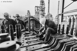 Refinery Workers