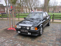 Ford Escort RS 1600i A540OPW (Andrew 2.8i) Tags: queen queens square bristol breakfast club show meet car cars classic hot hatch hatchback rs 1600 1600i mark 3 mk mk3 rs1600 rs1600i escort ford