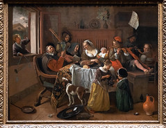 The Merry Family | Jan Havicksz. Steen | 1668 | The Rijksmuseum-48 (Paul Dykes) Tags: rijksmuseum museumofthenetherlands art gallery museum amsterdam netherlands nl holland themerryfamily janhavickszsteen 1668