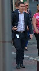 Handsome suit 3 (xelegante) Tags: handsome suit candid businessman