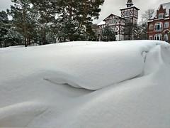 Schneedünen in Binz (lt_paris) Tags: urlaubinbinz2018 binz rügen düne schnee winter strand ostsee