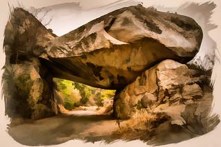 Tunnel Rock - Textured