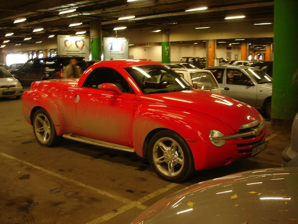 фото: Chevrolet SSR