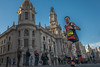 Mundial de Media Maratón en Valencia (the nenuco 123) Tags: rollingstoniano valència nikond5300 18105 run carrera mundial media maraton azul blue red rojo corredor runner city hall spain ayuntamiento ayuntament