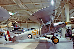 G-ABMR   (J9941) Hawker Hart Trainer ll [H.H-1] (RAF Museum) Hendon~G 09/07/1974 (raybarber2) Tags: 57 airportdata approachtodo biplane cnhh1 coded57 flickr gabmr hh1 j9941 preserved single slide ukcivil