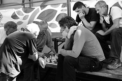The Game (Herminio.) Tags: partida ajedrez trabajadores mercado serbia belgrado verano treballadors mercat sèrbia estiu game chess workers market belgrade summer игра шах радници тржиште србија београд лето
