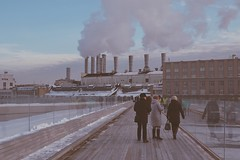 #smoke  #winter  #people  #city  #building  #travel  #architecture  #snow  #pollution  #weather  #environment  #water  #outdoors  #landscape  #vehicle  #smog  #daylight  #street  #urban  #storm (youcanbelieveme) Tags: smoke winter people city building travel architecture snow pollution weather environment water outdoors landscape vehicle smog daylight street urban storm
