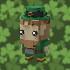 Leprechaun Brickhead (monkey5321) Tags: lego brickhead brickheadz leprechaun saint patricks day stpatricksday saintpatricksday