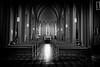 iglesia catolica Islandia (iperezmarin) Tags: iglesia church caatolica islandia island blanco negro