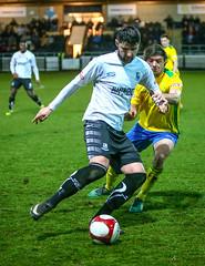 BL9U3215 (Stefan Willoughby) Tags: bamber bridge fc football club v hyde united march 2018 eco stik evostik league division 1 north non sir tom finned stadium lancashire