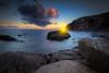 Dana Point Sunset (ADW44) Tags: orangecounty sunset danapoint marina bluehour california southerncalifornia socal rocks pacificocean oc sky