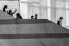 untitled (gregor.zukowski) Tags: bangalore india peopleinthecity geometry peopleingeometry blackandwhite bw blackandwhitestreetphotography street streetphoto streetphotography candid urban stairs fujifilm