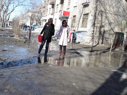Переправа через грязь ©  ayampolsky