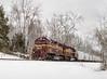 Louisville & Indiana six axles in the snow (charles buccola) Tags: lirc snow emd rr train li