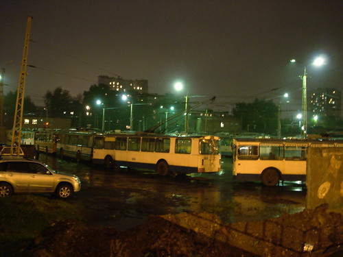 Троллейбусный парк ©  ayampolsky