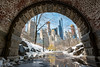 Inscope Arch (Central Park) after snow (paul.wasneski) Tags: newyork unitedstates us nyc centralpark snow arch interscopearch manhattan tunnel