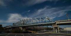 DSC_5395 (Copy) (pandjt) Tags: roadtrip unitedstates usa southcarolina northmyrtlebeach northmyrtlebeachsc barefootresortbridge barefootresortswingbridge swingbridge intracoastalwaterway bridge