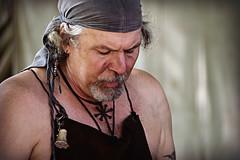 Sword Smith at Work (MTSOfan) Tags: swordsmith parf work man demonstration teaching