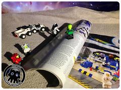 40-3 Opening Magazine (captainmutant) Tags: afol classic space lego ideas legospace minifig minifigures moc sciencefiction scifi exploration legography brickography photography toy