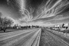 A Fair Weather Late March Sky (kendoman26) Tags: hdr nikhdrefexpro2 niksoftware niksilverefexpro2 nikon nikond3300 tokinaatx1228prodx tokina tokina1228 morrisillinois sky clouds