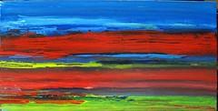 a strange observation in the sky (Peter Wachtmeister) Tags: artinformel art mysticart modernart popart artbrut phantasticart minimalart acrylicpaint abstract abstrakt surrealismus surrealism hanspeterwachtmeister