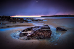 Decisive Conditions (Augmented Reality Images (Getty Contributor)) Tags: longexposure sandend beach sunrise water scotland landscape nisifilters waves coastline morayfirth canon seascape clouds rocks unitedkingdom gb