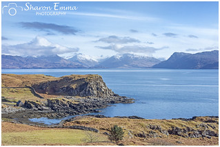 The View From Calligarry on The Sleat Peninsula