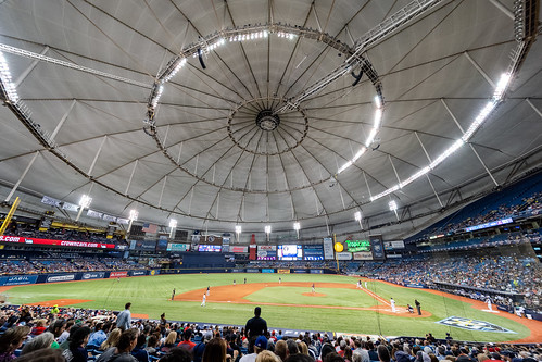 Tropicana Field Nighttime