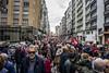 Manifestación en defensa de las pensiones dignas. 15/04/2018. Gijón. (David A.L.) Tags: asturias asturies gijón manifestación manifestantes protesta gente