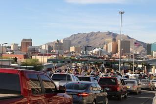 El Paso Skyline from Ciudad Juárez