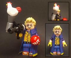 Custom Flash Villains 4: Trickster (Brickophilia) Tags: custom lego minifigure dc comics villain flash trickster rogues
