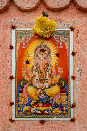 Ganesh, Mahabalipuram, Tamil Nadu, Inde