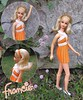And introducing MISS NO BANGS (ModBarbieLover) Tags: francie 1971 1972 nobangs doll mattel mod blonde platinum outdoors fashion