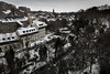 Dean Village - Beast from the East (Richard Tynan) Tags: edinburgh winter snow landscape buildings city beastfromtheeast moody desaturated dean village river