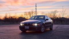 Sunset-HDR-1 (Alex Wilson Photography) Tags: bmw bimmer e39 525i 2003 2000 2001 2002 1999 cool fun sporty sport sports sedan touring m m3 m5 speedy cars car