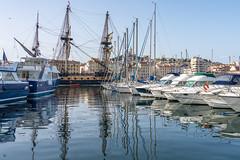 Hermione Vieux Port de Marseille (Bernard Ddd) Tags: marseille lafayette 15avril2018 vieuxportdemarseille frégate gabier hermione provencealpescôtedazur france fr