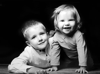 Theo & Lena <3 #mykids