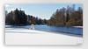 Along the river Mölndalsån (5) (andantheandanthe) Tags: mölndalsån hindås ice lake stream river bear polarbear polar forest snow winter