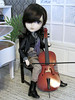Black (back2s0ul) Tags: taeyang natsume musician cello cellist doll groove