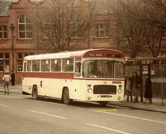 Halton Borough  55 1985 (Ado Griff) Tags: htf355k haltontransport widnes bristolresl6l eastlancscoachwork halton55