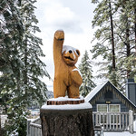 Bear Statue - Lake Arrowhead, California thumbnail